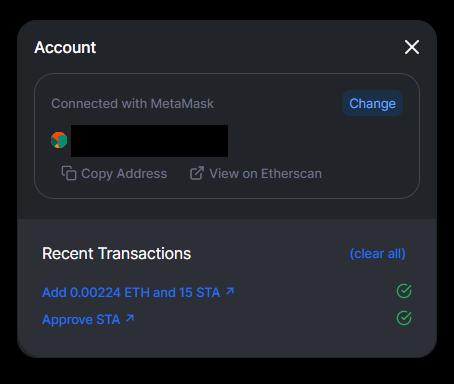 Delta transactions