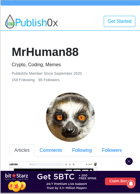 mrhuman88 publish0x profile