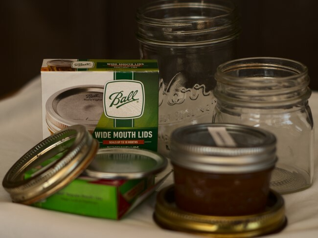 Canning jars, lids, bands