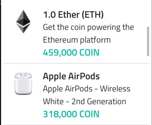 Coin App 2
