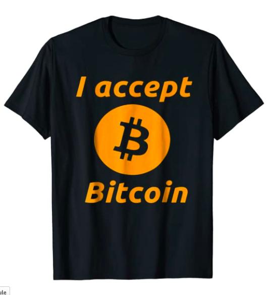 I Accept Bitcoin Dad