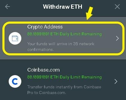 External Crypto Address
