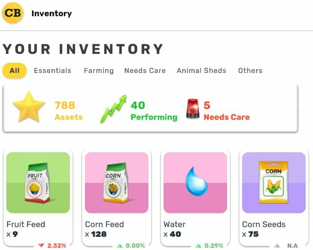 Cropbytes Inventory