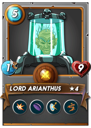 Lord Arianthus is the original non-attacking tank!