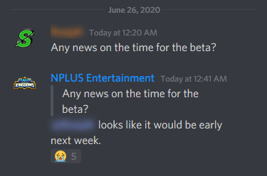 game would released early next week