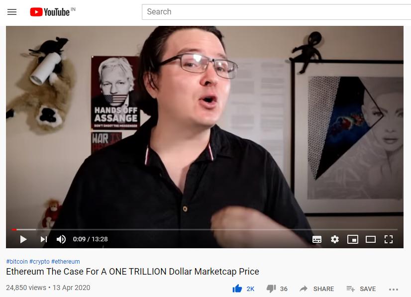youtube, crypto lark