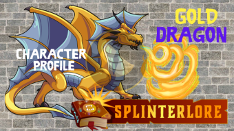 Splinterlands Legendary Card Profile - Gold Dragon
