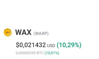 My thoughts about WAX and a possible investment