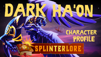 Splinterlands Legendary Profile - Dark Ha'on