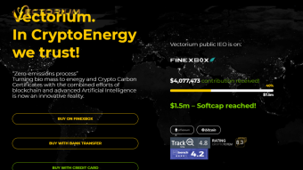 VECTORIUM, THE WORLD FIRST CRYPTO ENERGY PLATFORM