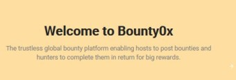 About Bounty0x