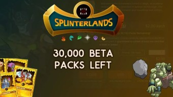 Only 30,000 Splinterlands Beta Packs Left