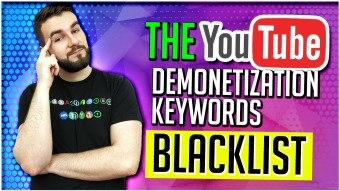 The YouTube Demonetization Keywords Blacklist