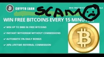 Cryptoearn faucet is a scam!