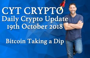 Bitcoin Taking a Dip