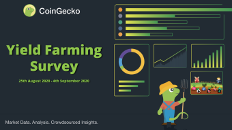 CoinGecko Yield Farming Survey Report 2020 Has Finally Arrived!
