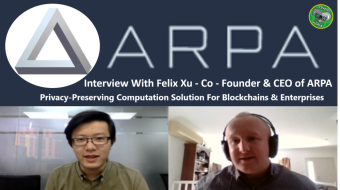 ARPA Chain 2019 - Private Smart Contracts - 2ND Layer Blockchain solution - With CEO Felix Xu