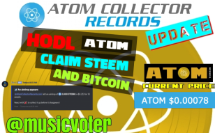 Hodl ATOM and Claim STEEM & Bitcoin