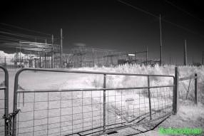 Infrared Photography - Yates Power substation