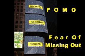 The Fear Of Missing Out - FOMO