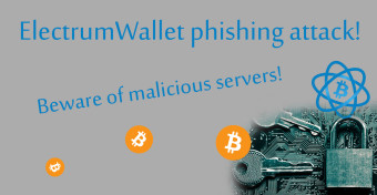 WARNING. Electrum wallet phishing!