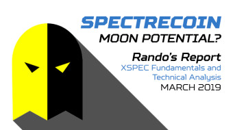 Spectrecoin – Moon Potential? Rando's Report on XSPEC - March 2019