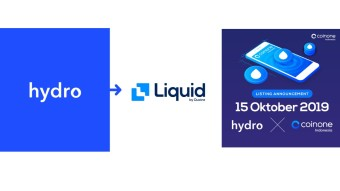 $HYDRO listed on Liquid Exchange and Coinone Indonesia