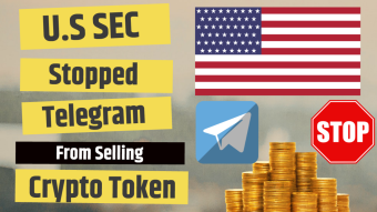U.S SEC Stopped Telegram From Selling Crypto Token