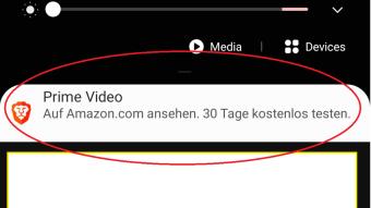 [HUGE] Amazon Uses Brave Ads