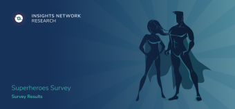 19,530 Unique Responses for Insights Network — Superheroes Survey