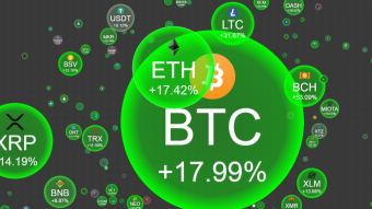 Crypto Bubbles: The New Bubbling Price Site