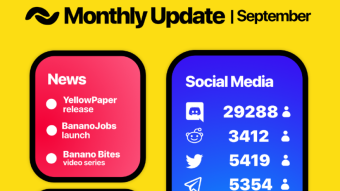 BANANO Monthly Update September 2019