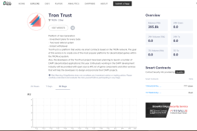 Dapps with Tron