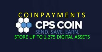 CoinPayments (CPS) - The Lowest Transfer Fees With 1,275 Digital Assets To Store
