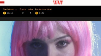 Earn TTU crypto coins (pegged at .25 US$) watching Movies on the TATATU Movie Network
