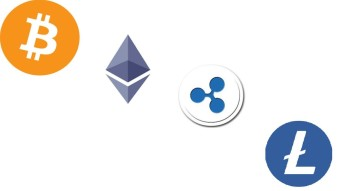 Results for a 1-year and 2-year HODL investment in Bitcoin, Ethereum, Litecoin, and Ripple
