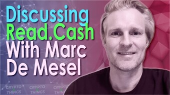Discussing Read.Cash & BCH With Marc De Mesel