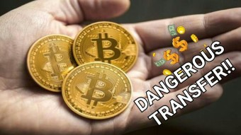 DANGEROUS BITCOIN TRANSFER!! WHO OWNS THIS BTC??