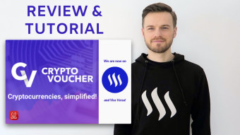 Buy Crypto on Cryptovoucher.io - Step-by-step tutorial and review