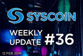 Syscoin Weekly Update #36
