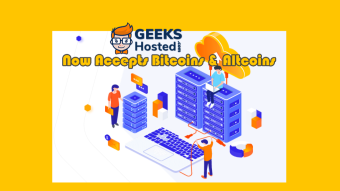 GeekHosted Webhosting Service Now Accepts 50 Cryptocurrencies as Payment Options