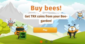 BeeHive (TronHive): New Popular Game Using TRON Network