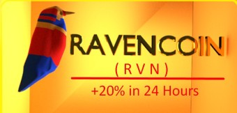 Ravencoin (RVN) - A 24 Hour 20% Surge (April 20, 2019)
