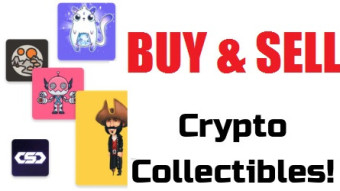 Buy, Sell, Trade NFT, Crypto Collectibles on Market with Ethereum Token, ERC 721 Token