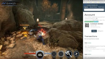 Unreal Engine 4 games get crypto transactions with Nano plug-in