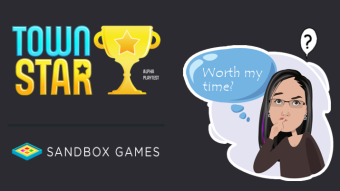 New Blockchain Game - Town Star - Worth My Time?