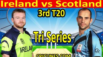 Ireland won by 4 wickets.
