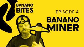 'Banano Bites' Episode 4: Banano Miner - Support Cancer Research, Earn BANANO!