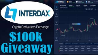 INTERDAX EXCHANGE 🔸 $100k Giveaway! 🔸 Crypto Battle Trading 🔸 100x Leverage 🔸 IDAX Tokens