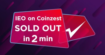 Azbit IEO on Coinzest was sold out in 2 minutes!